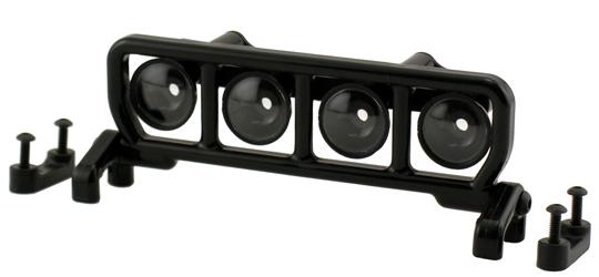 Narrow Roof Mounted Light Bar Set - Black