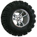Chrome Clawz Rock Crawler Wheels - Wide Wheelbase
