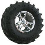 Chrome Clawz Rock Crawler Wheels - Narrow Wheelbase