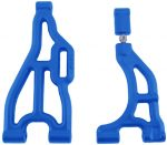 Blue Adjustable Camber A-arms for the Losi LST / Aftershock