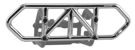 Traxxas Slash 4x4 Rear Bumper - Chrome