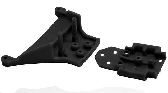 Slash 4x4 & Rally LCG Front Bulkhead - Black