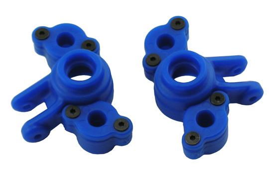 Blue Axle Carriers for the Traxxas 1/16th Scale Mini E-Revo & Mini Slash