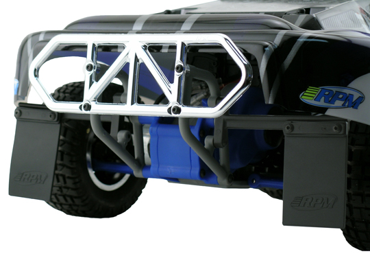RPM 80122 Rear Bumper Black Slash 4x4 Black