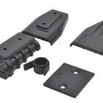 73412 - Black Mock Intake & Blower Set