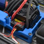 73275 - Blue ESC Cage for Castle ESCs (shown installed)