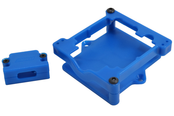 73275 - Blue ESC Cage for Castle Sidewinder 3 & SCT