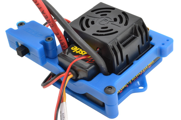 73275 with ESC Installed blue esc cage for castle sidewinder 3 & sidewinder sct escs rpm traxxas xl5 esc wiring diagram at panicattacktreatment.co