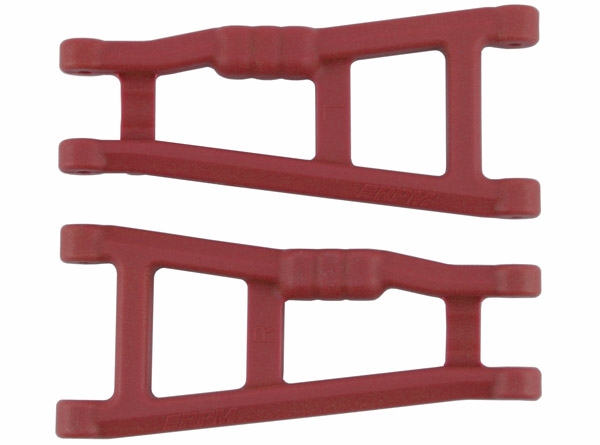 80189 Red Rear A-arms for the Rustler & Stampede 2wd