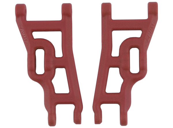 80249 Red Front A-arms for the Slash 2wd, Rustler & Stampede 2wd