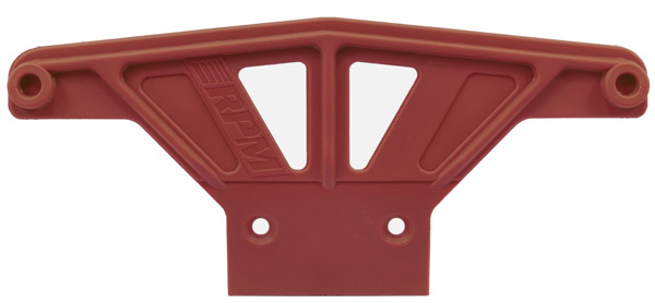 81169 Wide Front Bumper for Traxxas Rustler & Stampede - Red