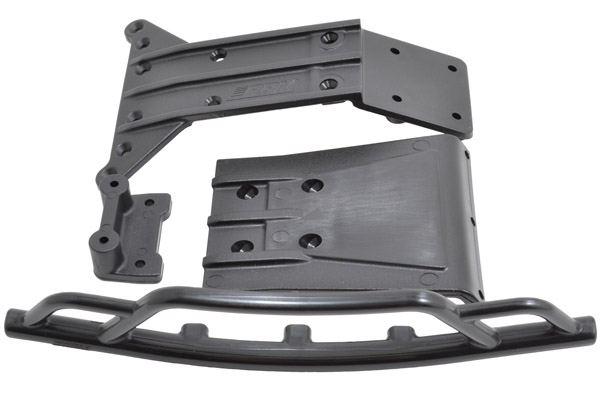 81612 - Front Bumper & Kick Plate for the Torment 4x4
