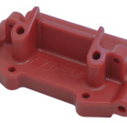 Red Front Bulkhead for most Traxxas 1:10 scale 2wd Vehicles