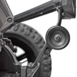 81582 - Low Visibility Wheelie Bar for the Traxxas X-Maxx (installed - side view)