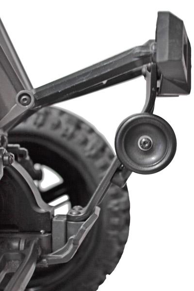 Wheelie Bar par RPM 81582-installed-on-vehicle-side