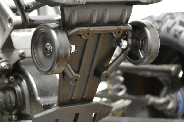 Wheelie Bar par RPM 81582-installed-on-vehicle