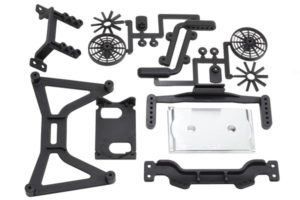 70860 - Slash 2wd No Clip Body Mounts