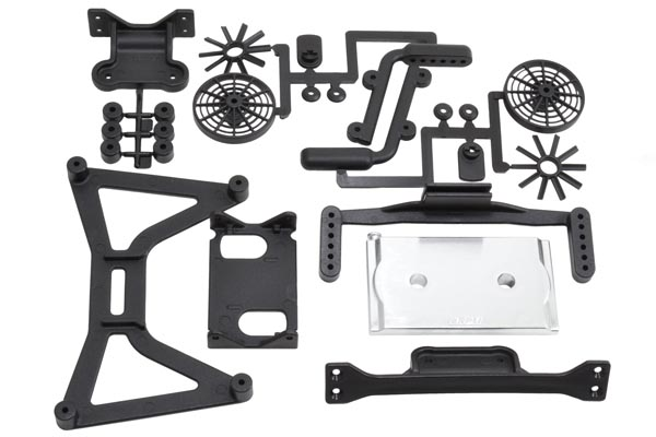 70920 - Slash 4x4 No Clip Body Mounts