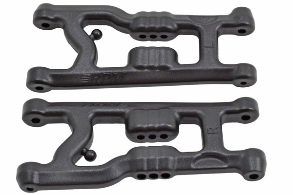 "81372 - ""Flat"" Front A-arms for the Associated B6 & B6D"