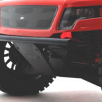 73742 - Losi Baja Rey Front Bumper & Skid Plate - Installed with Body