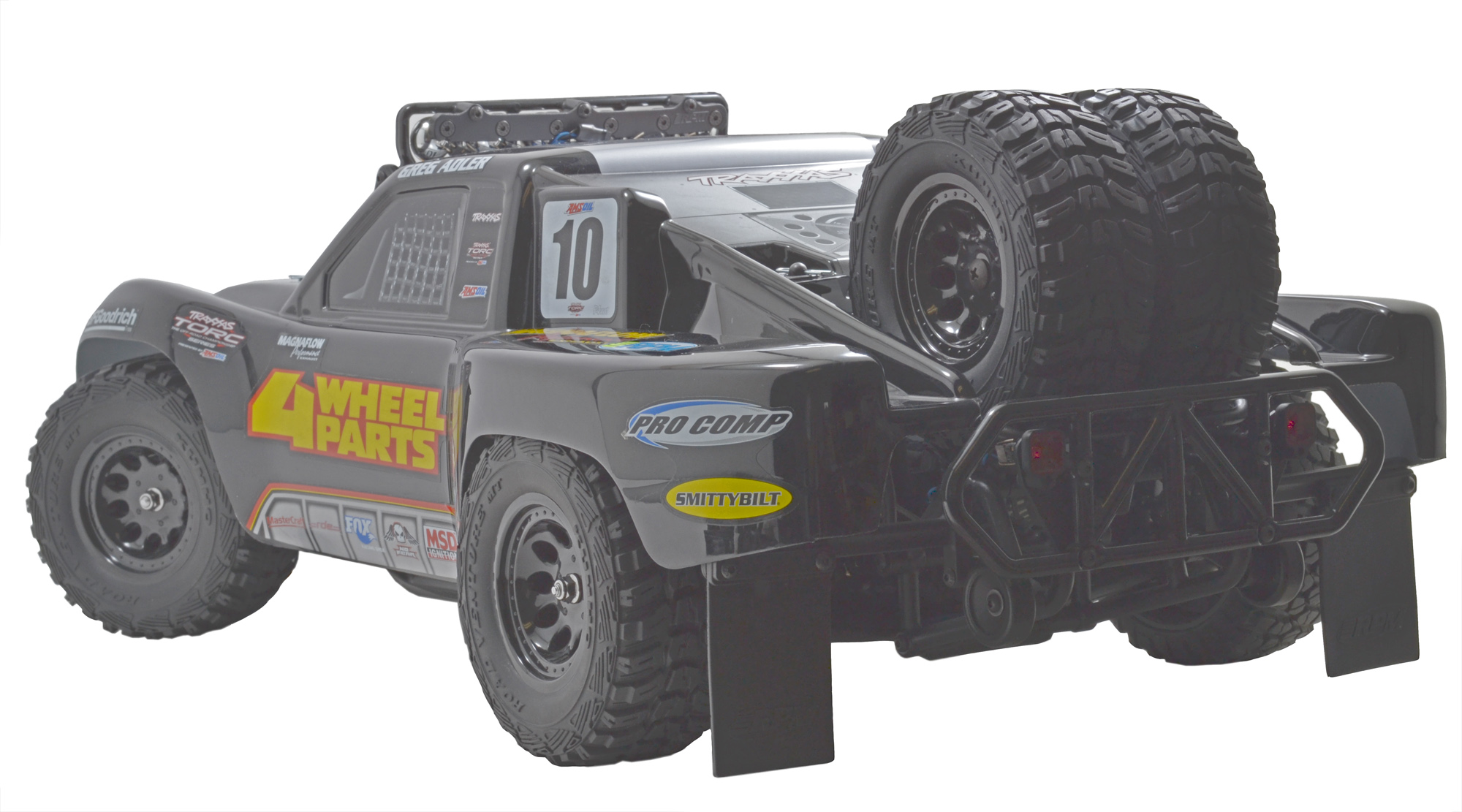 Dual Tire Spare Tire Carrier For The Traxxas Slash 2wd Slash 4x4 Rpm R C Products