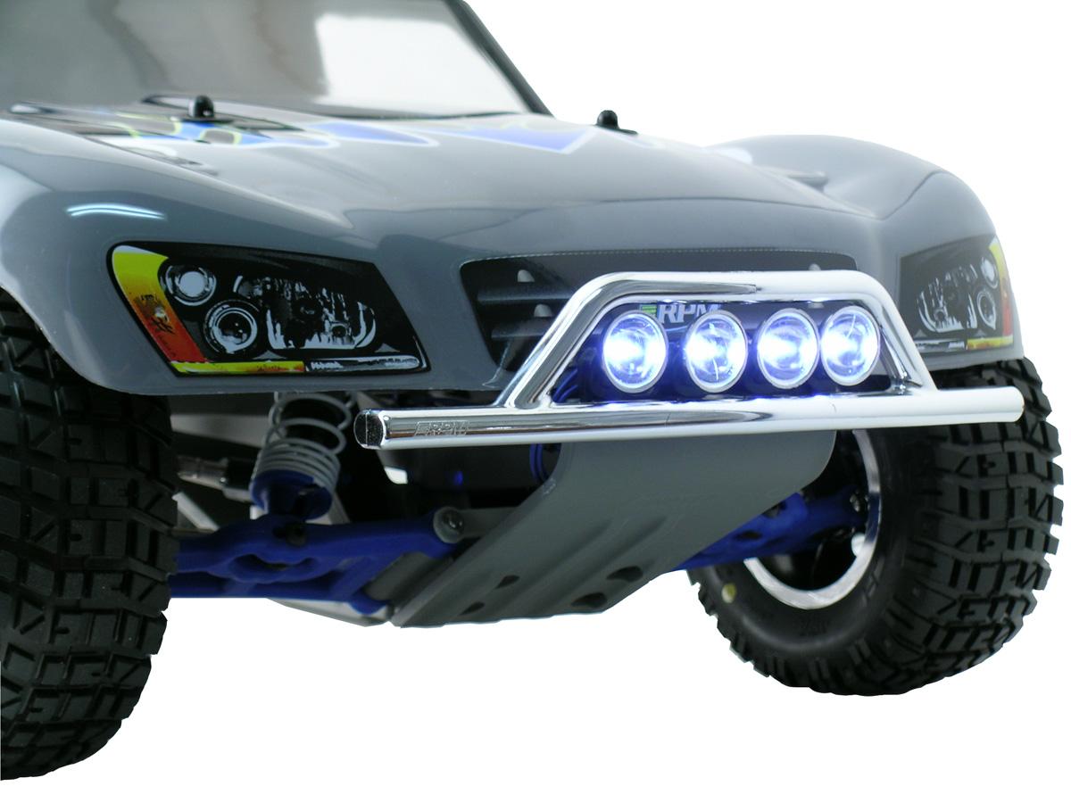 RPM 80982 Light Canister Set For Traxxas Nitro Slash 2wd Black