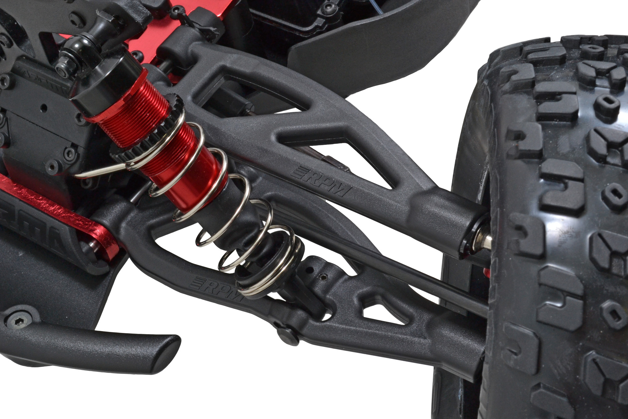 Front Upper & Lower A-arms for 6S versions of the ARRMA